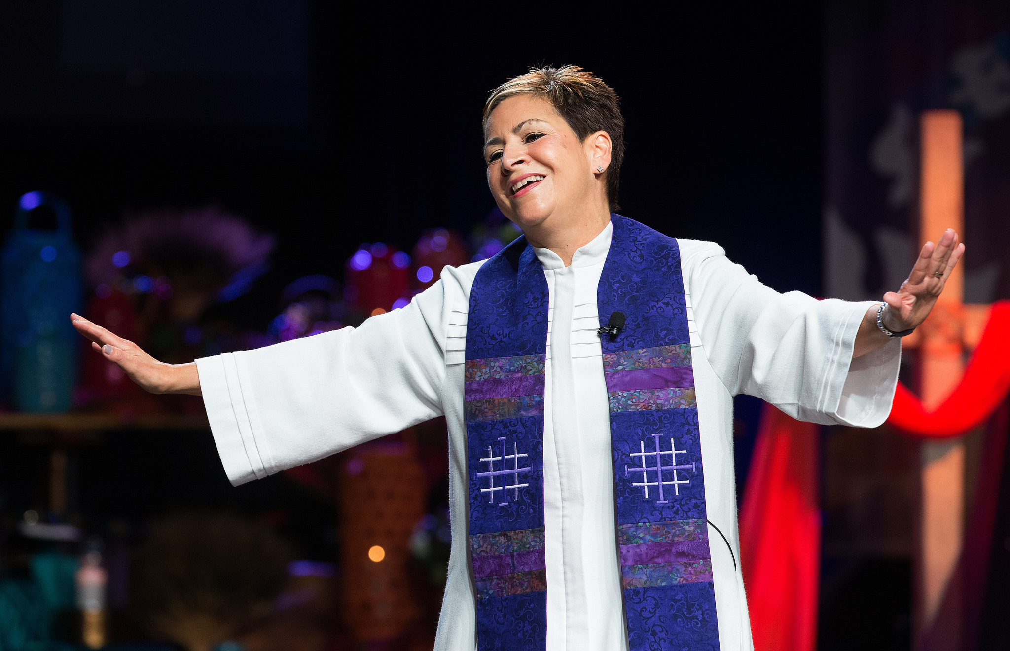 Bishop Cynthia Fierro Harvey is the Resident Bishop of the Louisiana Area in the South Central Jurisdiction of The United Methodist Church.